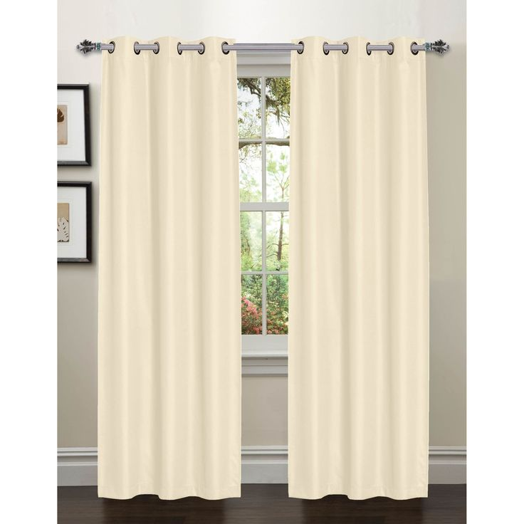 Galaxy Room Darkening Grommet Curtain Panels