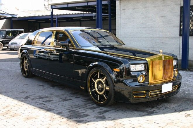 Black and Gold Offices | Home » Cars & Bikes » Rolls Royce Phantom Limos, Coupes and ...
