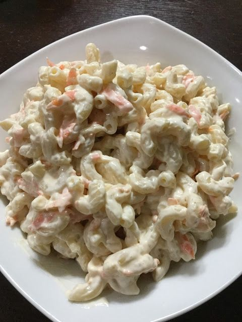 Authentic Hawaiian Salad  As many of the people that I have worked with in my lifetime will attest, I am a huge fan of Hawaiian Mac Salad. The addiction truly starte...