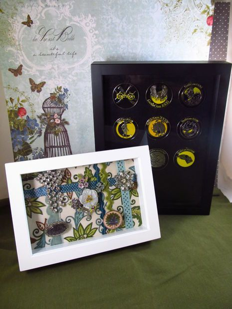 Free tutorial: Brooch/pin display and protector case.