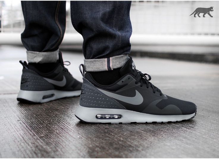 nike mens air max tavas leather trainers stars