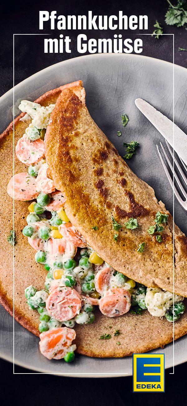Pfannkuchen mit Gemüse Recipe Klassiker aus der Küche Pinterest