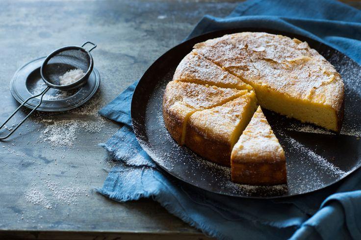 Orange almond cake.