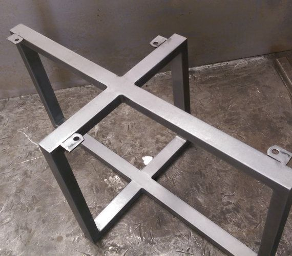 17 Best Ideas About Table Bases On Pinterest Table Legs Steel Table And Industrial Furniture