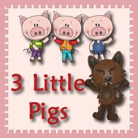 Free 3 Little Pigs Pack for ages 2 to 7 - Over 60 pages and 27 pages in a Tot Pack #free #printables