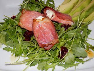 MAKE-FOOD: Kozí sýr v kabátku na salátku