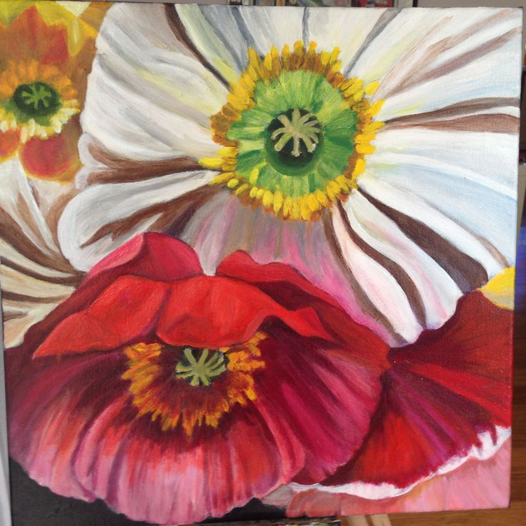 Poppies... sold in August 2016