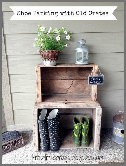 best 25 outdoor shoe storage ideas on pinterest shoe. Black Bedroom Furniture Sets. Home Design Ideas