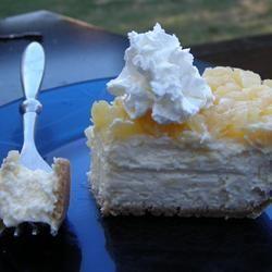 Carrés de gâteau au fromage et ananas @ qc.allrecipes.ca