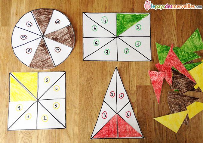 fabriquer un puzzle des formes