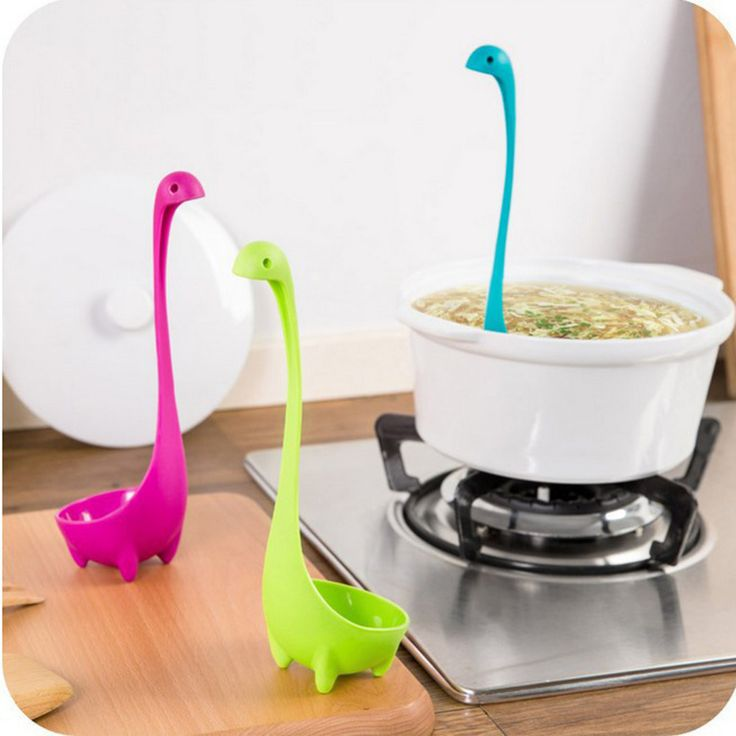 1Pcs Lovely Useful Nessie Soup Ladle Loch Ness Monster Design Upright Spoon Home Kitchen Bar Cute Cooking Accessories #>=#>=#>=#>=#> Click on the pin to check out discount price, color, size, shipping, etc. Save and like it!