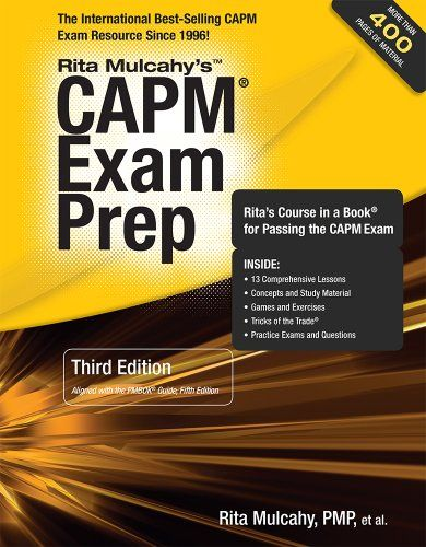 CAPM Exam Prep, 3rd Edition by Rita Mulcahy