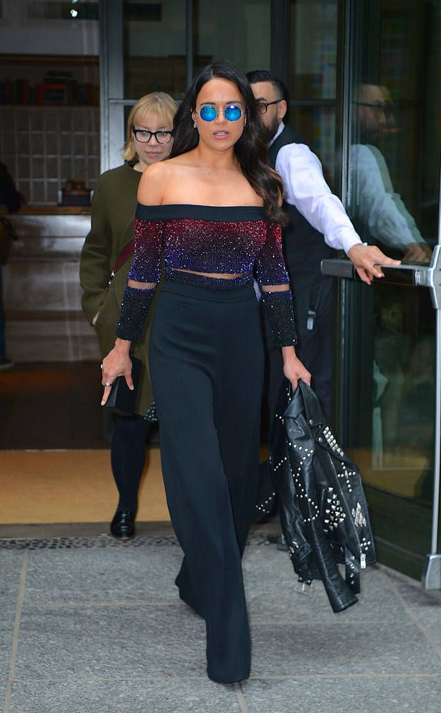 Michelle Rodriguez from The Big Picture: Today's Hot Photos  The actresspromotes her new movie, The Fate of the Furious, in New York City.