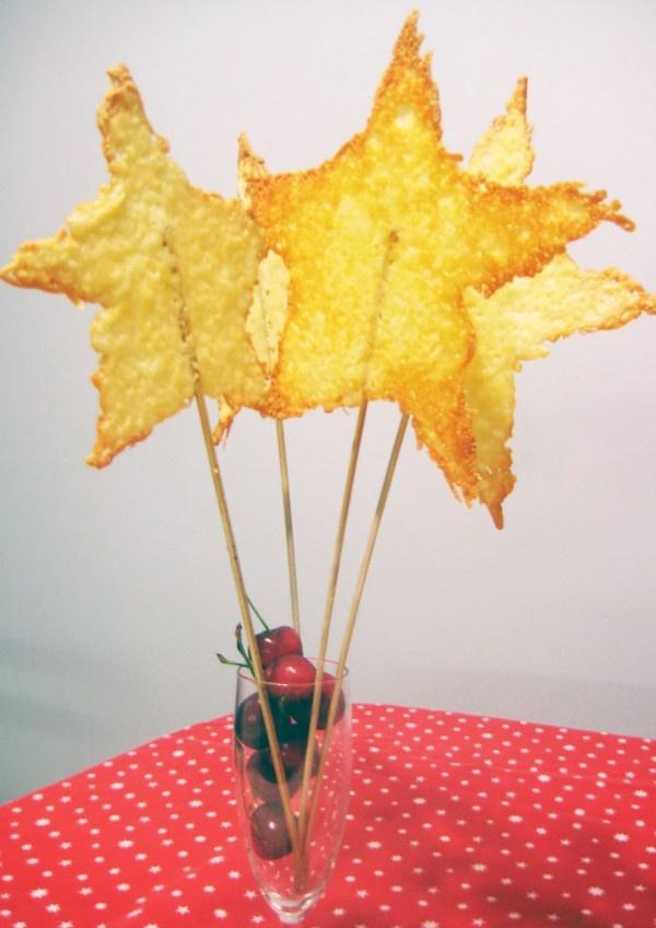 Recetas divertidas: estrellas de queso | Recetas para niños | Recetas para niños