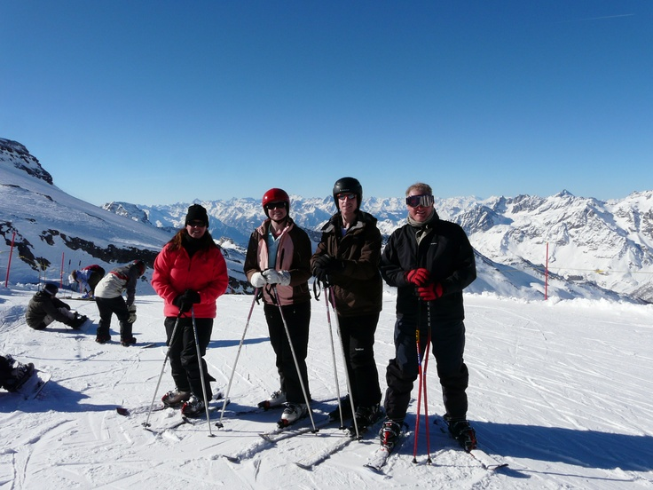 Cervinia, Italy to Zermatt, Switzerland.  One of the best days of my life