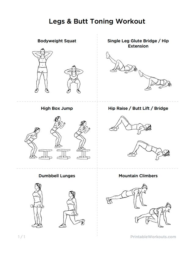 Sexy Glutes Intense Legs & Butt Toning Workout for Women