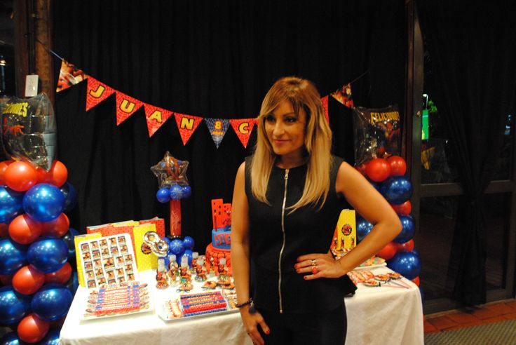Marcela Tauro confio en nuestra empresa para el festejo del cumple nº8 de su hijo Juan Cruz. Tematica Hombre Araña http://antonelladipietro.com.ar/blog/marcelatauro-cumple-hijo/