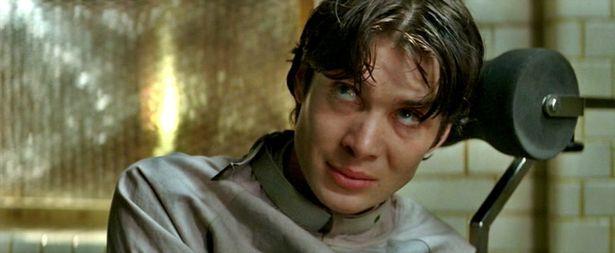 Cillian Murphy as The Scarecrow in 'Batman Begins'