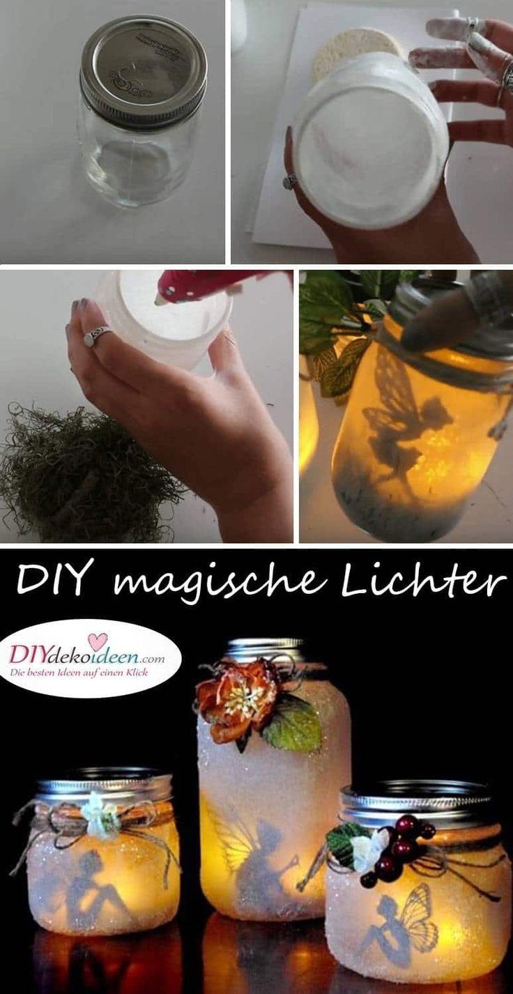 Diese DIY Deko Ideen mit Kerzen wirken einfach magisch!
