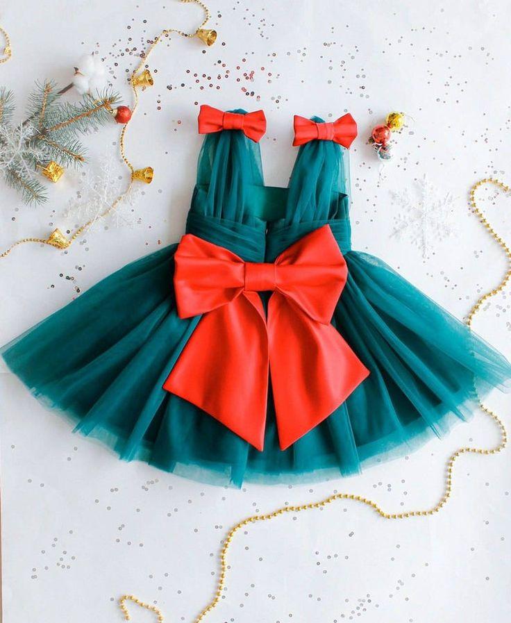 Blue baby girl dress stunning tulle infant dress toddler