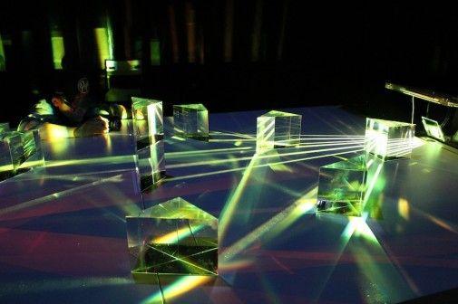 Interactive installation: PRISMA 1666