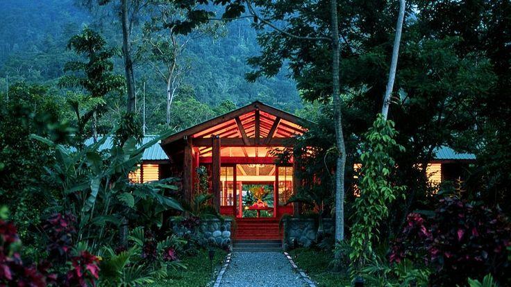 The Lodge at Pico Bonito, Honduras. what an incredible place!