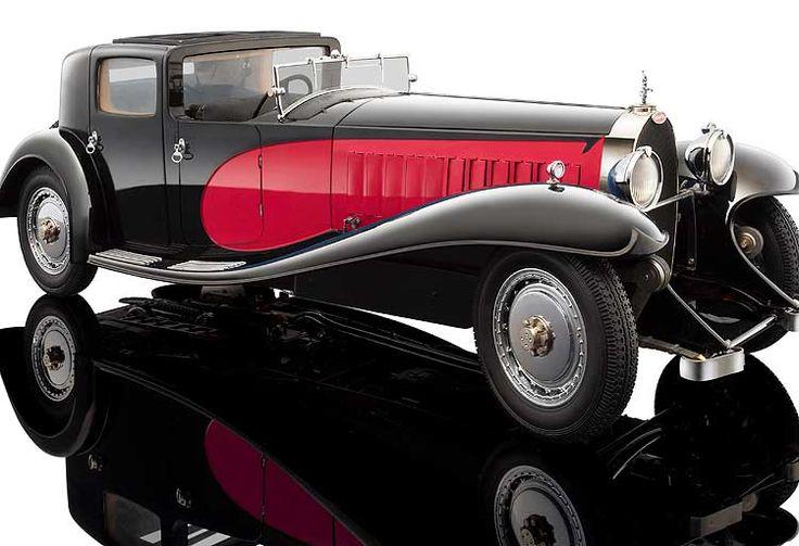 1930 Bugatti Royale Coupe de Ville Type 41 Diecast Model