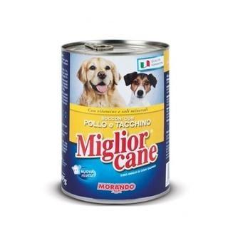 Miglior Cane Pollo e Tacchino Tavuklu & Hindili Katkısız Köpek Maması
