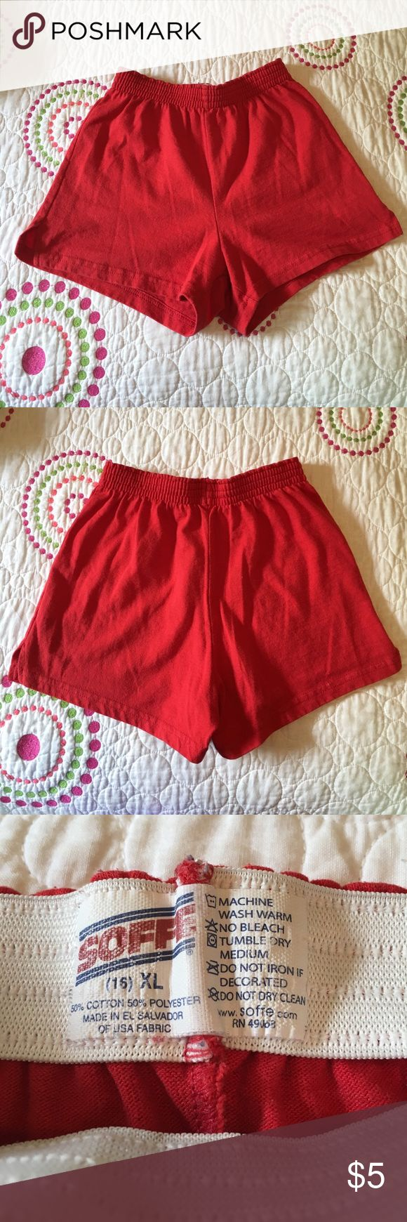 Soffee Shorts - Red //smoke free and pet free home // - perfect lounging shorts for the summer! Soffee Bottoms Shorts