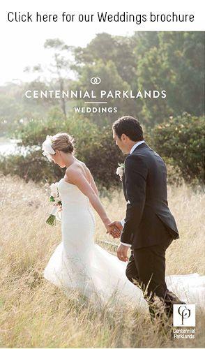 Centennial Parklands outside venue.