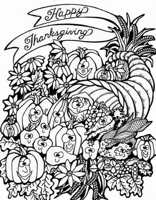11 best thanksgiving coloring pages images on Pinterest Coloring