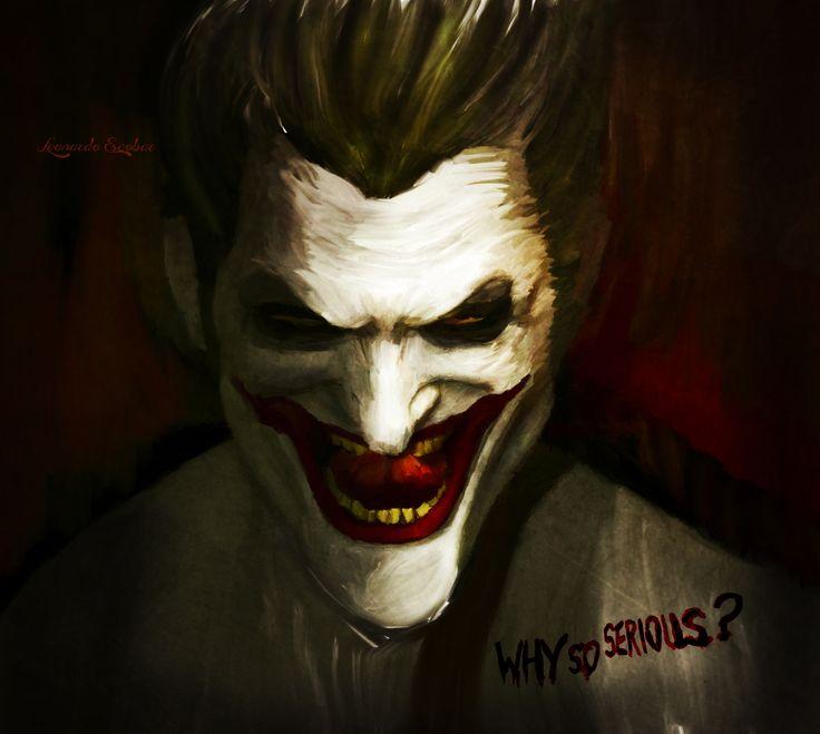 Joker - Digital oleo