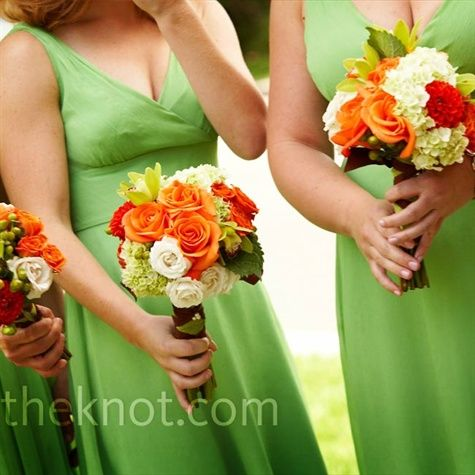 #Wedding Colours... 3 main colours:- Brown, white, green + 2 accent colours:- orange & cantaloupe. ... More wedding ideas for brides & bridesmaids, grooms & groomsmen, parents & planners ... https://itunes.apple.com/us/app/the-gold-wedding-planner/id498112599?ls=1=8 … plus how to organise an entire wedding, without overspending ♥ The Gold Wedding Planner iPhone App ♥