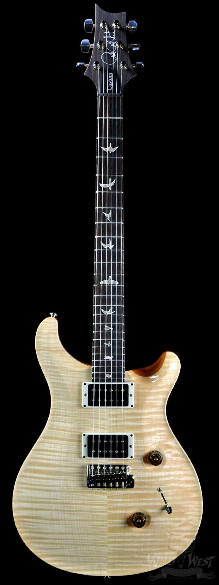 PRS Paul Reed Smith Custom 24 Natural 10 Top - Wild West Guitars