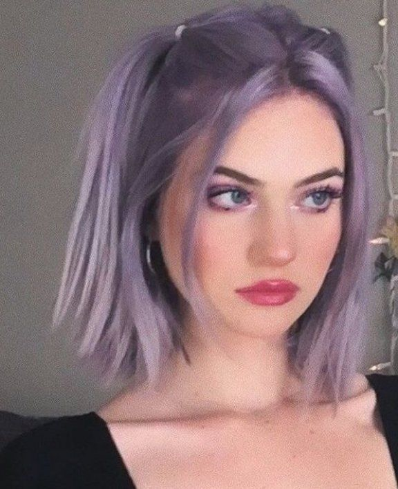 Bath And Body Purple Dyed Hair Purple Dyed Hair Bangs Under Dyed Hair Dyed Hair Front Strands Dyed Hair Ide In 2020 Aesthetic Hair Pink Hair Dye Hair Inspo Color
