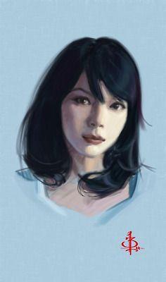 Linh Cinder artwork by BTANK