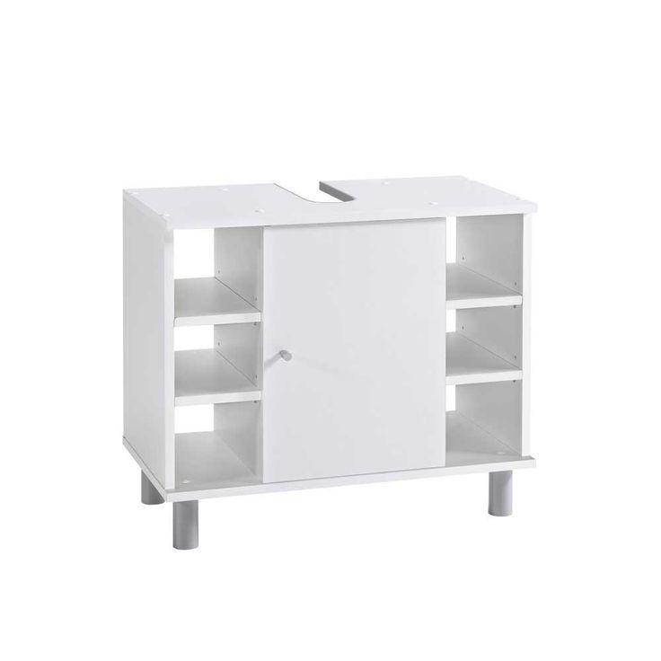 Badezimmer Waschbeckenschrank in Weiß mit offenen Fächern Jetzt bestellen unter: https://moebel.ladendirekt.de/bad/badmoebel/waschbeckenunterschraenke/?uid=d6c00795-15ef-5db8-adc1-796b22a5bc14&utm_source=pinterest&utm_medium=pin&utm_campaign=boards #waschtischunterbau #waschschrank #badezimmerkommode #beis #bad #waschtischkonsole #waschbeckenunterschrank #badezimmerschrank #schrank #badschrank #badmoebel #waschbeckenschrank #waschtischunterschrank #waschtisch #badeschrank #waschkommode…