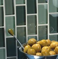 Peel Tile #kitchen #light #fittings http://kitchen.remmont.com/peel-tile-kitchen-light-fittings/  #kitchen backsplash tiles # 905 569 0202 Glass Glass has become exceedingly popular in the last few years and is now the designer's choice. If a modern look appeals to you, glass tile will do just that. Some glass is translucent, and will allow light to shine through them creating a glamorous glow. Popular lines...