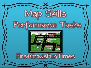 20 best Map Skills images on Pinterest   Map skills  Map activities     Map Skills   Performance Tasks
