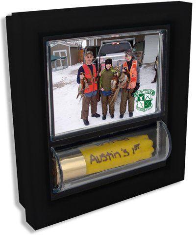 Shotkeeper Shotgun Shell Hunting Memories Photo Frame 2x3:Amazon:Home & Kitchen