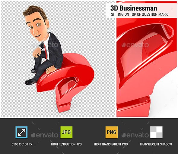 3d Businessman Sitting On Top Of Question Mark This Or That Questions Question Mark Man Sitting