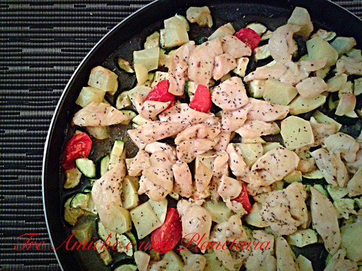 Pollo limone e miele -ricetta passo passo-