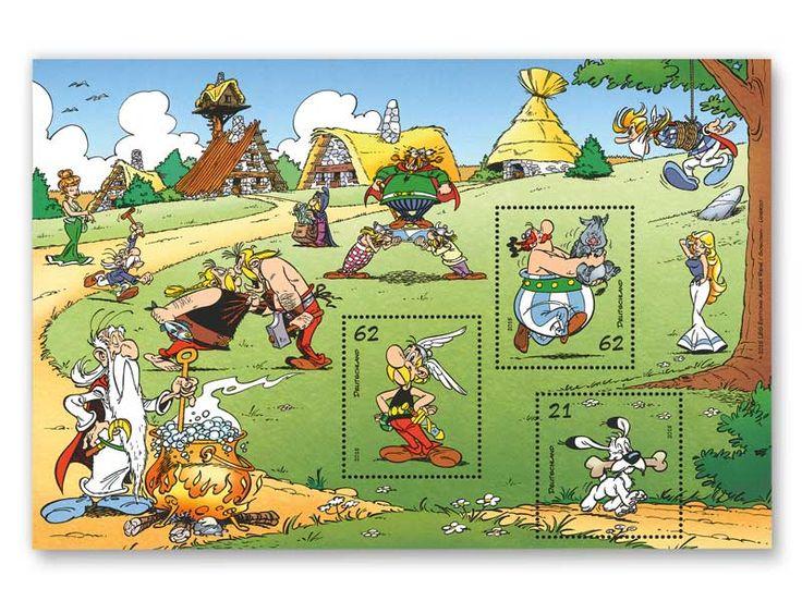 """Bild Blockausgabe """"Asterix"""" 1,45 €"""