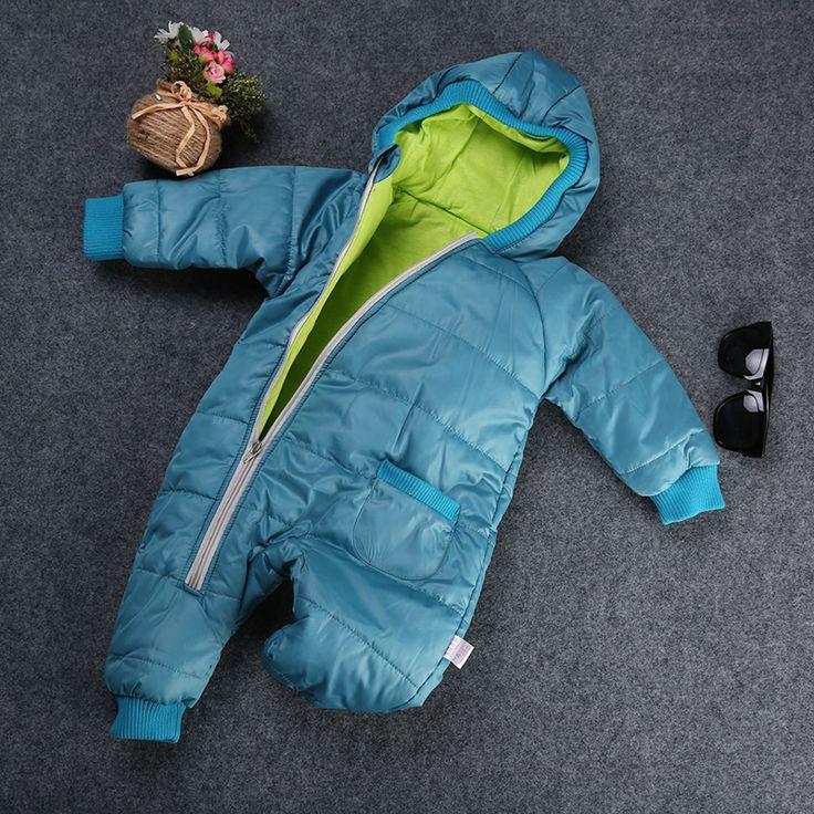 Ребенок зимнее пальто на хлопок зимние мягкие одежды зима мальчик комбинезоны ребенка зимой ползунки комбинезон водонепроницаемый малыша лыжные куртки купить на AliExpress