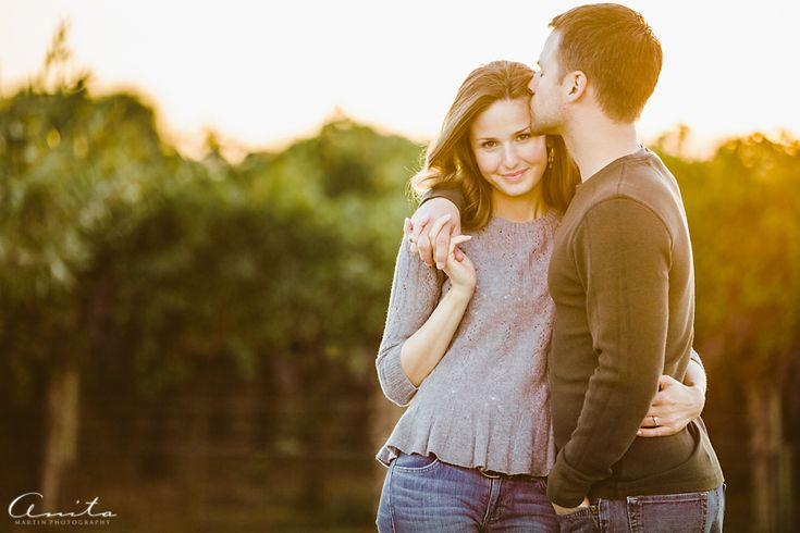 Engagement photography.  Love the pose.
