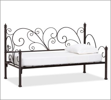 Pottery Barn Bed Furniture Wrought Iron Beds
