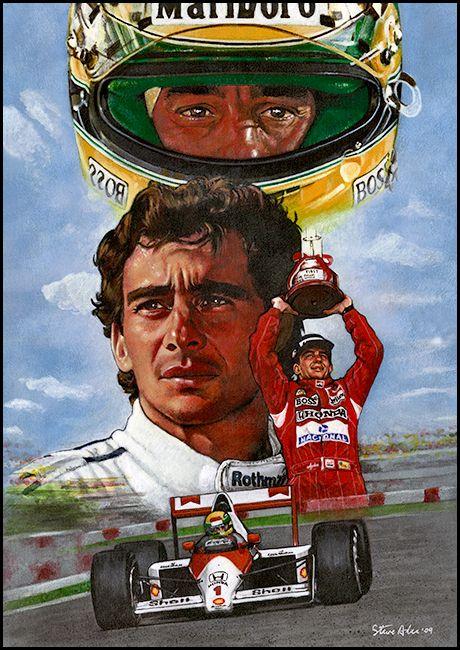 Ayrton Senna da Silva and McLaren Honda F1 We all love the legend Ayrton Senna…