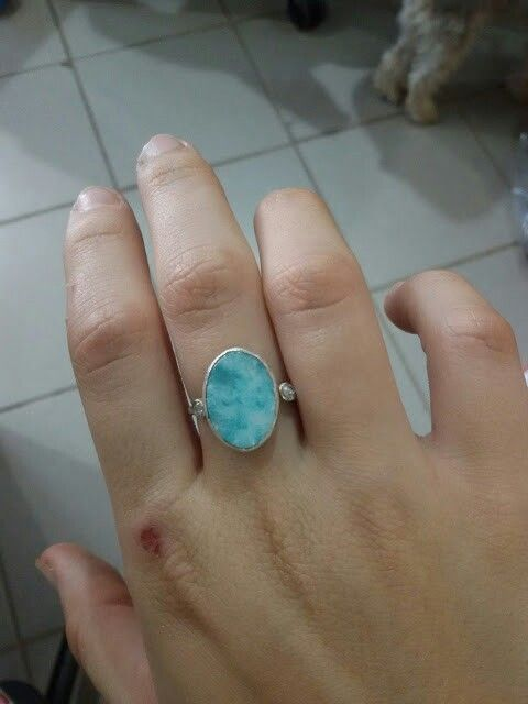#amazonite #handmade #ring