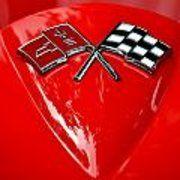 Little Red Corvette Poster by Dean Ferreira