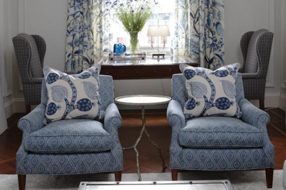 sarah richardson blue family room